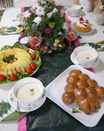 クリスマスのパン教室_e0086864_23535791.jpg