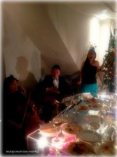 クリスマスパーティにて_d0163672_18504324.jpg