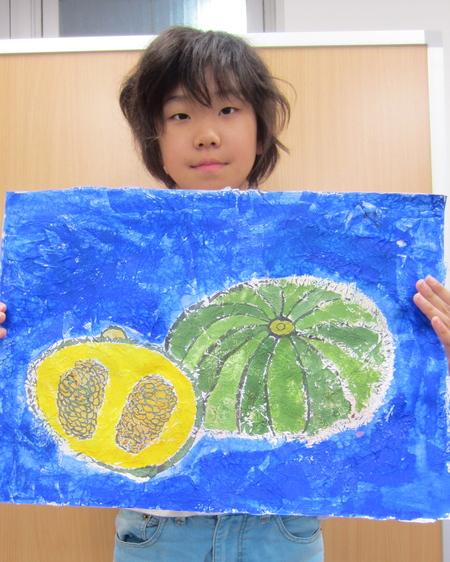 かぼちゃを描こう☆宇治教室_f0215199_13563512.jpg