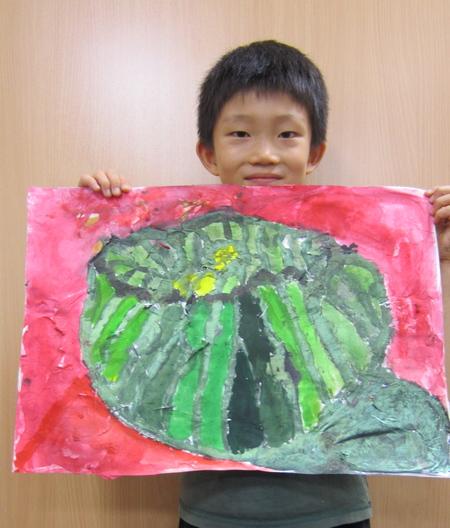 かぼちゃを描こう☆宇治教室_f0215199_1432894.jpg