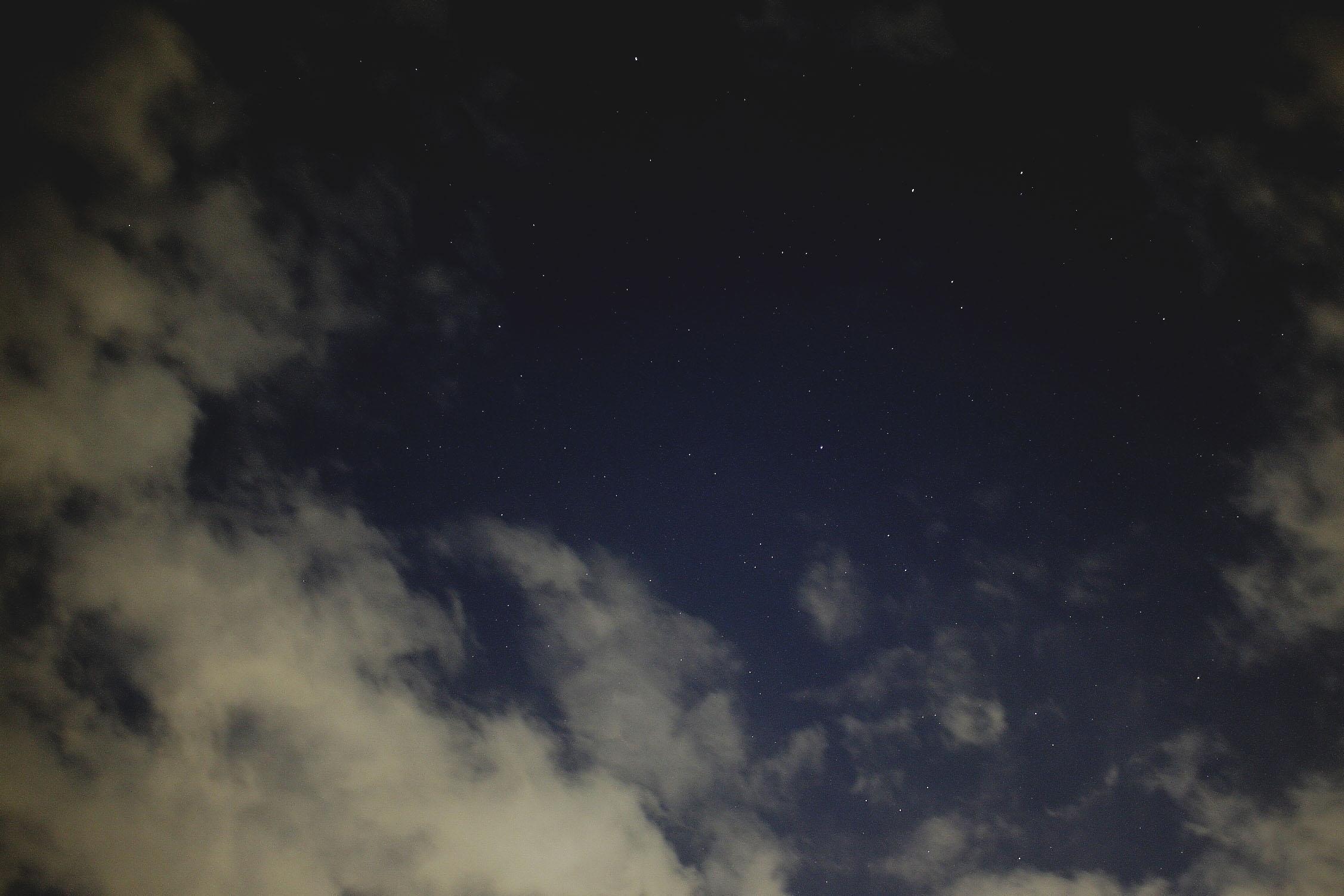 物井からみた星_c0222817_2043996.jpg