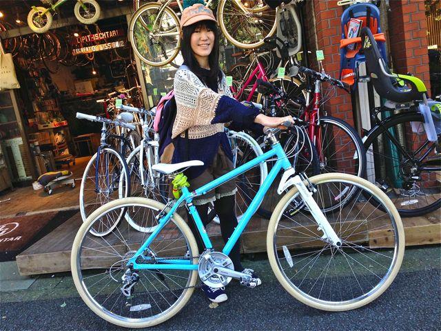 ☆今日のバイシクルガール5本立て☆ 自転車 女子 おしゃれ_b0212032_21102938.jpg