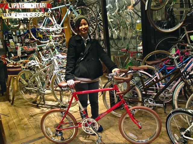 ☆今日のバイシクルガール5本立て☆ 自転車 女子 おしゃれ_b0212032_2195138.jpg