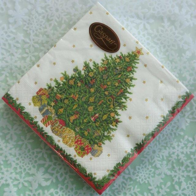 ◆続・クリスマス用ペーパーナプキンを入荷しました!_f0251032_20291888.jpg