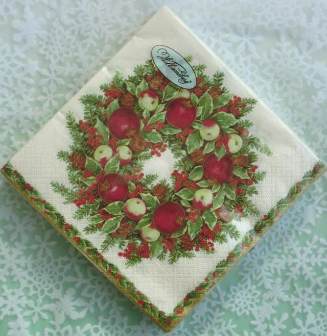 ◆続・クリスマス用ペーパーナプキンを入荷しました!_f0251032_2029314.jpg