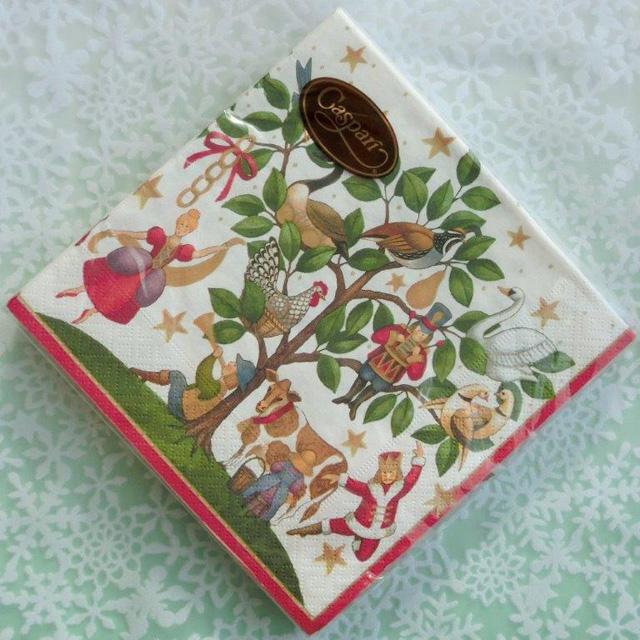 ◆続・クリスマス用ペーパーナプキンを入荷しました!_f0251032_20303567.jpg