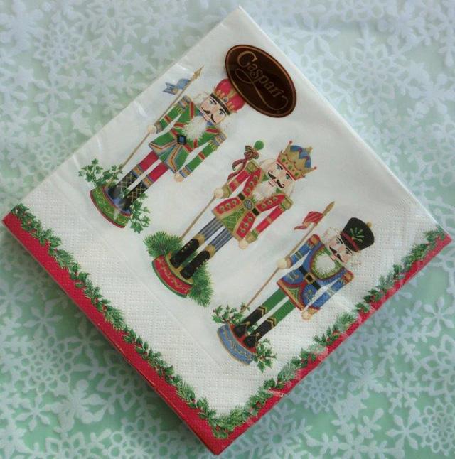 ◆続・クリスマス用ペーパーナプキンを入荷しました!_f0251032_2031375.jpg