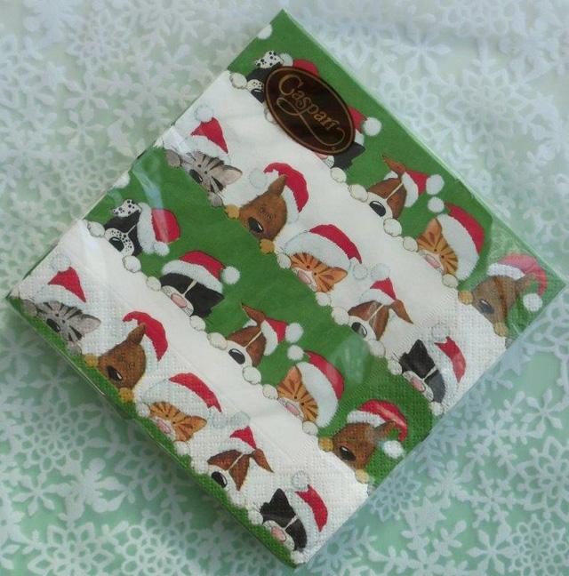 ◆続・クリスマス用ペーパーナプキンを入荷しました!_f0251032_2032330.jpg