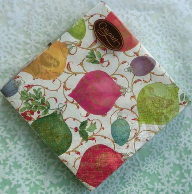 ◆続・クリスマス用ペーパーナプキンを入荷しました!_f0251032_20325391.jpg