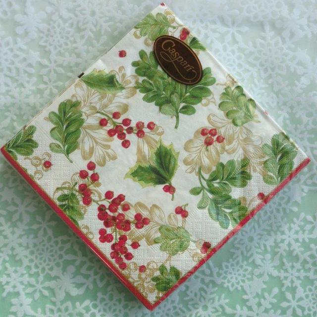 ◆続・クリスマス用ペーパーナプキンを入荷しました!_f0251032_20371934.jpg