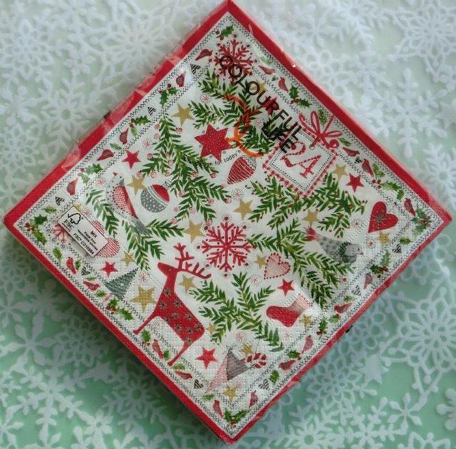 ◆続・クリスマス用ペーパーナプキンを入荷しました!_f0251032_20373834.jpg