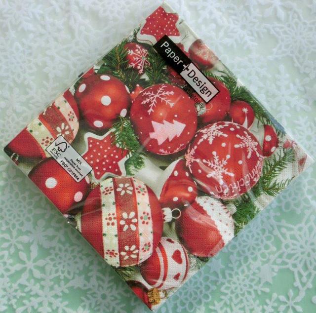 ◆続・クリスマス用ペーパーナプキンを入荷しました!_f0251032_2037564.jpg