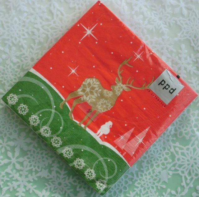 ◆続・クリスマス用ペーパーナプキンを入荷しました!_f0251032_20394424.jpg