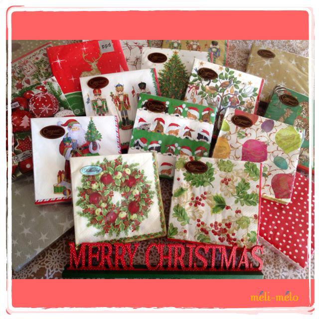 ◆続・クリスマス用ペーパーナプキンを入荷しました!_f0251032_20512530.jpg