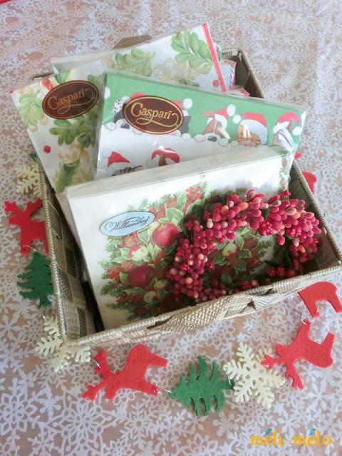 ◆続・クリスマス用ペーパーナプキンを入荷しました!_f0251032_20534746.jpg