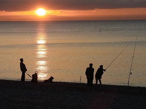 朝釣り ② ( Peche du matin ② ) …… 。_b0287748_0442891.jpg