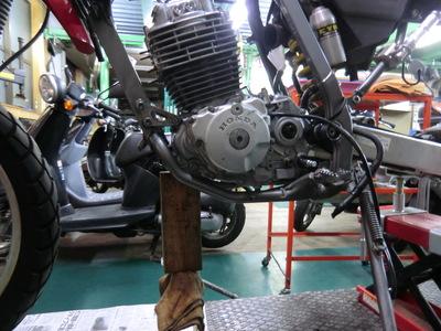 ME08 エンジン完成!_e0114857_19352868.jpg