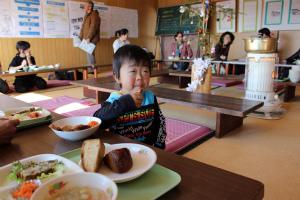 春野人×公民館レストラン一日目_b0141264_188278.jpg
