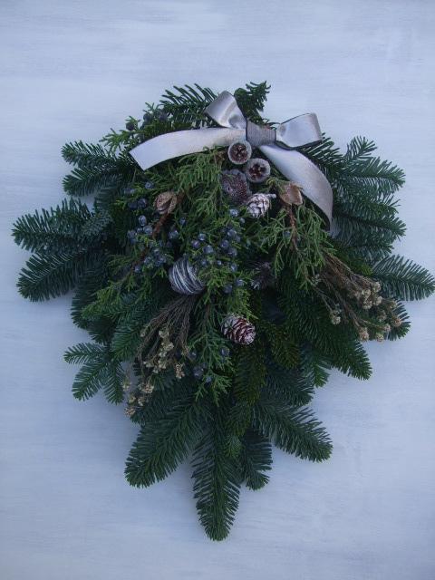 オークリーフ(今年のクリスマスリースⅡ)_f0049672_1120959.jpg