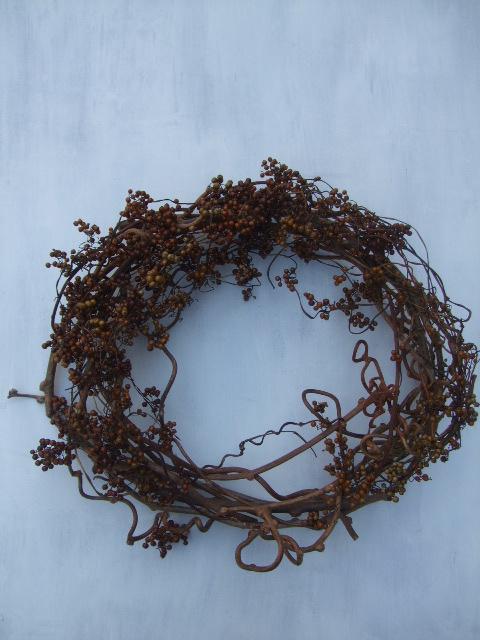 オークリーフ(今年のクリスマスリースⅡ)_f0049672_1125843.jpg