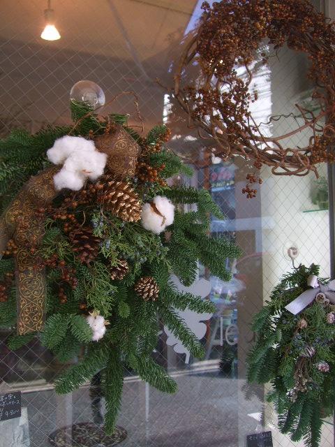 オークリーフ(今年のクリスマスリースⅡ)_f0049672_11275094.jpg