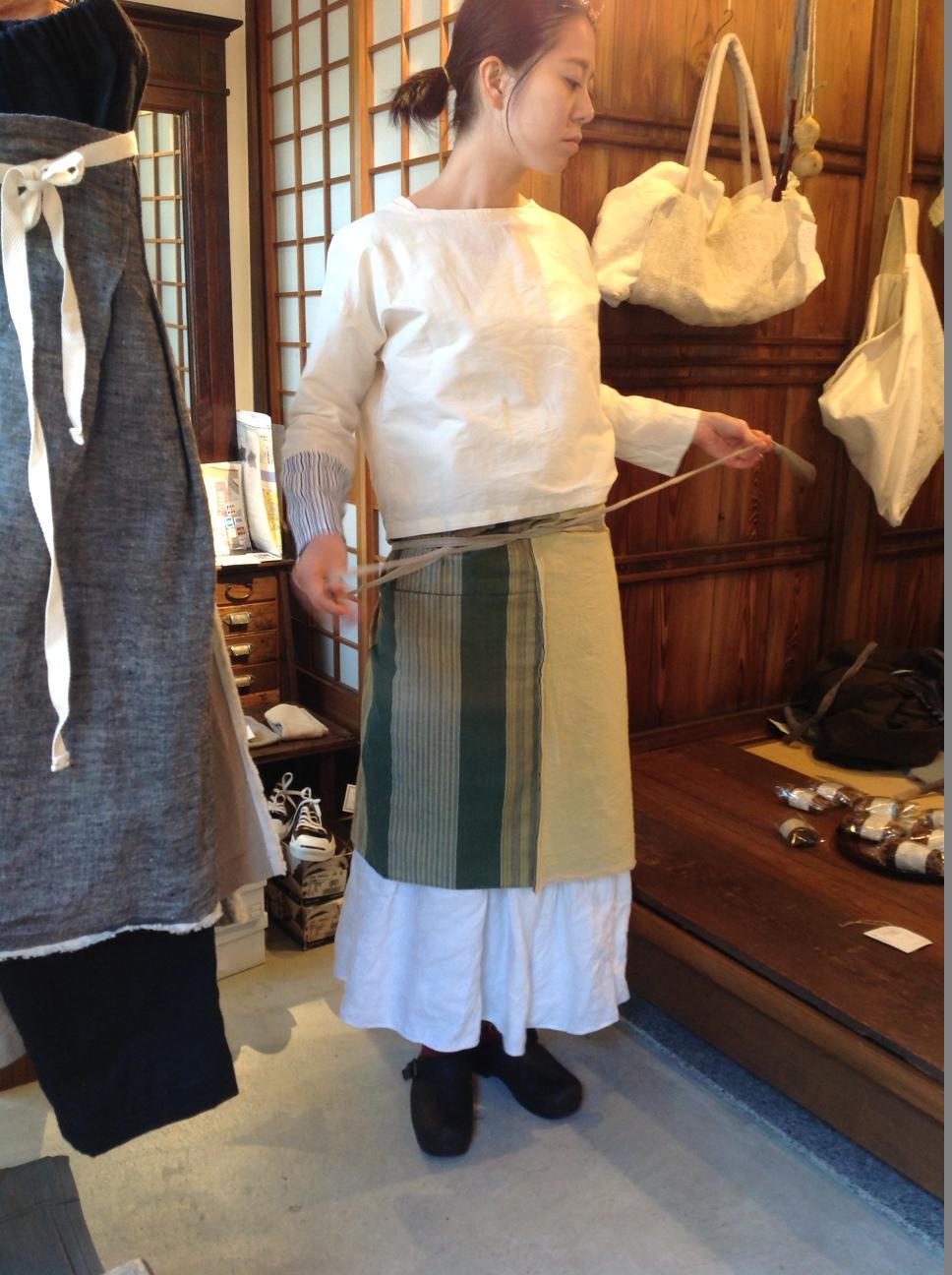 奥田早織展から⑦- MIDORIサロンとCHECKサロン_e0248492_23575036.jpg
