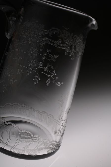 Baccarat Louis XV Pitcher ルイ15世_c0108595_23493173.jpg
