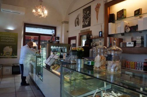 フィレンツェで大好きなお菓子屋さん「ジェラートの王様」_f0106597_19591312.jpg