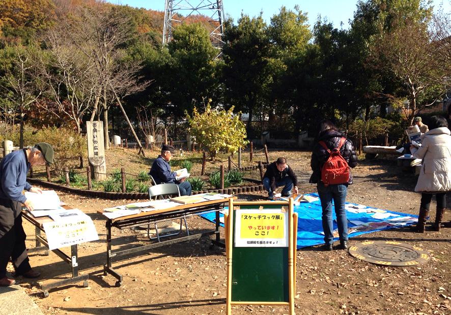 『スケッチブック展 〜日常を楽描く〜』 in kawasaki が盛会のうちに終了いたしました。_a0037907_2071416.jpg