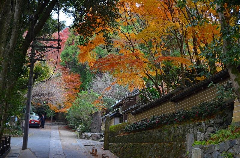 秋も深まり紅葉も終わりに近づいた『嵯峨野』を散策_e0237645_2230523.jpg