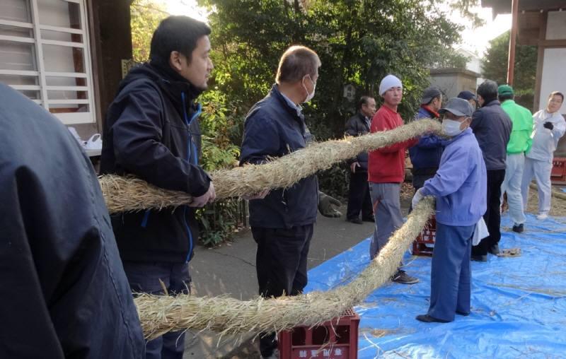 華農園秋の収穫祭と神明宮しめ縄奉納_f0059673_18571837.jpg