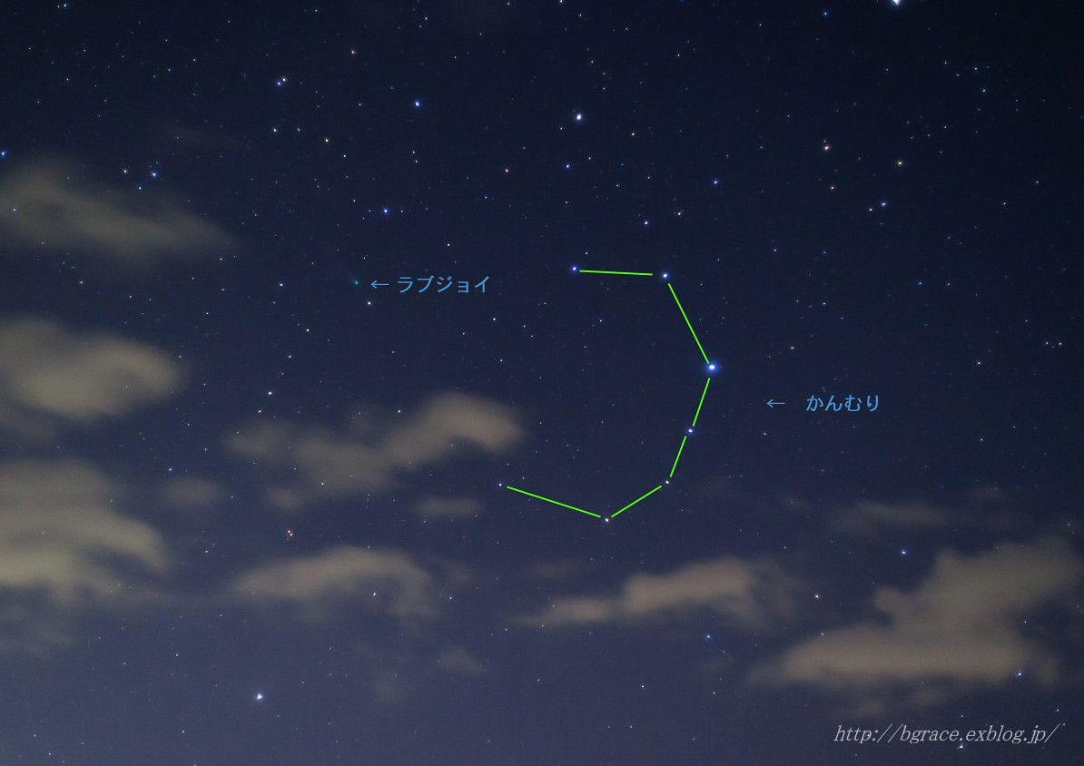 ラヴジョイ彗星 と かんむり座_b0191074_13595421.jpg