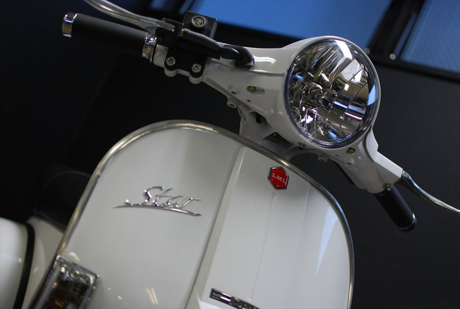 LML Star Automatic 125 ピュアホワイト入荷!_d0099181_20325667.jpg