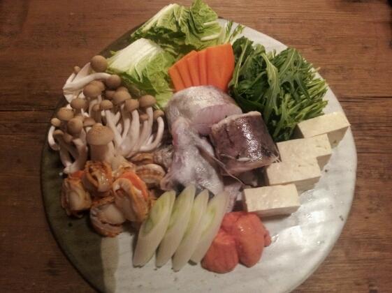 海鮮豆乳鍋♪_b0252508_1431311.jpg