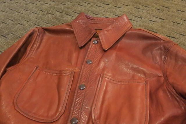 アメリカ仕入れ情報#26 70'S レザーシャツジャケット!_c0144020_11494977.jpg