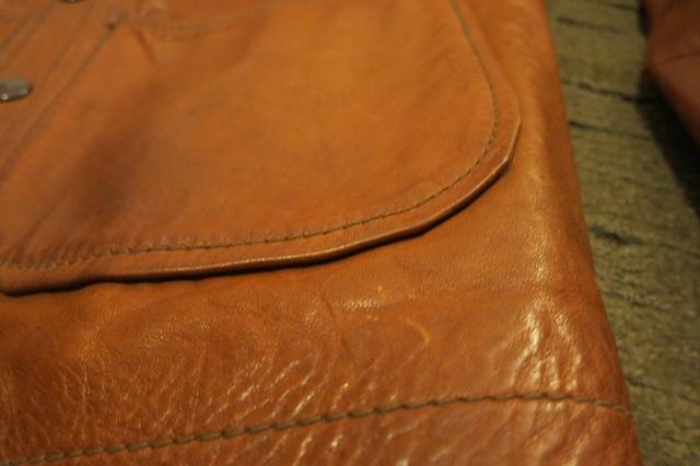 アメリカ仕入れ情報#26 70'S レザーシャツジャケット!_c0144020_11495291.jpg