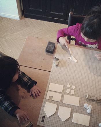 子供と一緒に、オーナメント作り_e0172847_99113.jpg