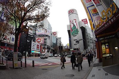 12月9日(月)の渋谷109前交差点_b0056983_2144923.jpg