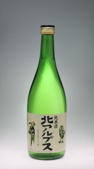 北アルプス 純米酒 [福原酒造]_f0138598_21342311.jpg