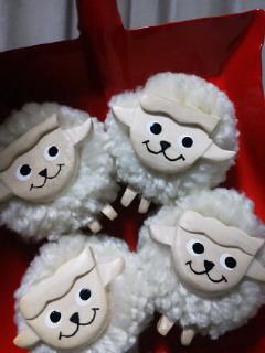 羊のマグネット_f0255704_22132987.jpg