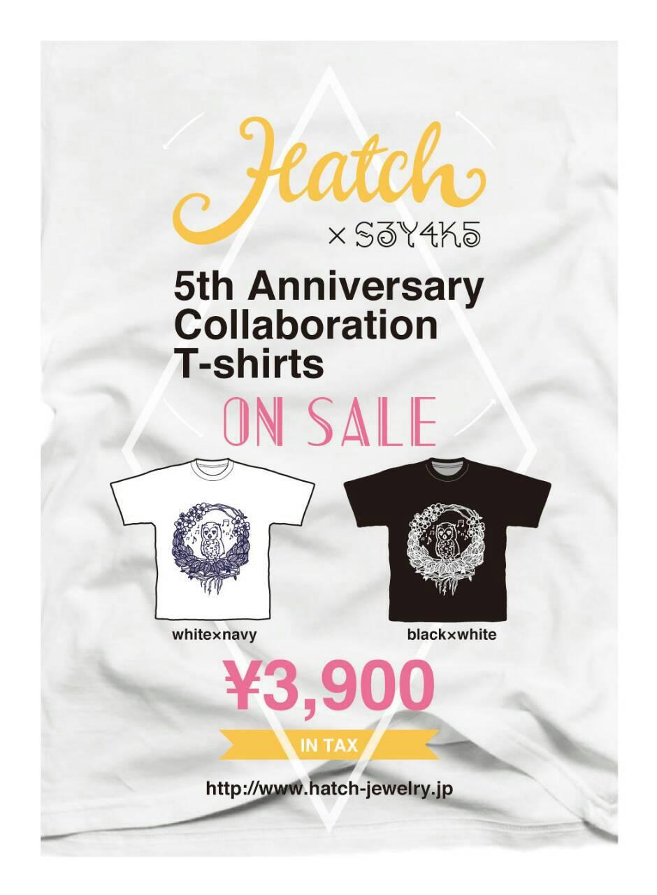 """Htach"" 5th anniversary collaboration T-shirts_d0165136_17265815.jpg"