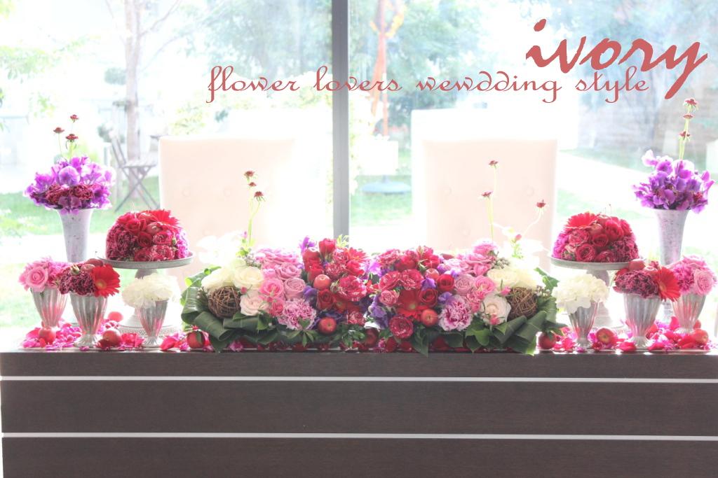 ~週末の婚礼から~♪♪_b0094378_1165299.jpg