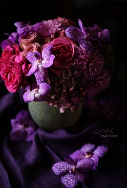 La Fleur(flower design) facebookページ 600いいね! もらったよ♪_f0127281_22252349.jpg