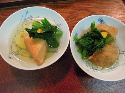 さつま揚げ、東京あげ、小松菜の おでん_e0116211_1012113.jpg