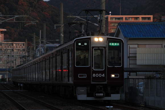 阪急 箕面線 日本の始動_d0202264_19215579.jpg