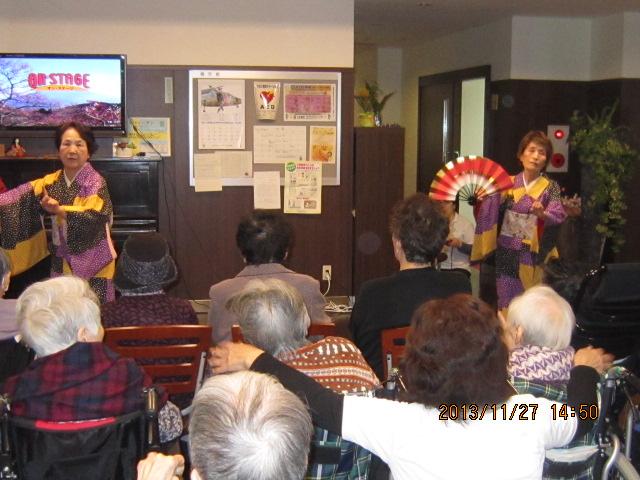 「お茶・踊りの会」開催させて頂きました_a0158095_1159180.jpg