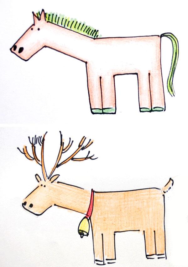 馬を手書き!2_d0225198_1683717.jpg