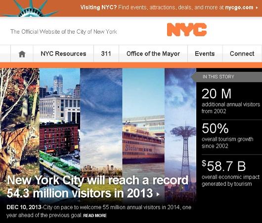 2013年、NYを訪れた観光客は史上最多の5,430万人、経済効果は590億ドル(約6兆円)!!!_b0007805_23254438.jpg