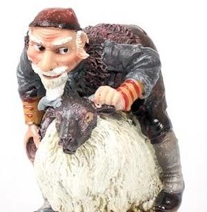 アイスランド13人のサンタ、12月12日羊小屋の乳なめサンタ_c0003620_138254.jpg