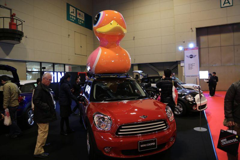 名古屋モーターショーでエクシーガ版XVを眺める_f0076731_2193689.jpg